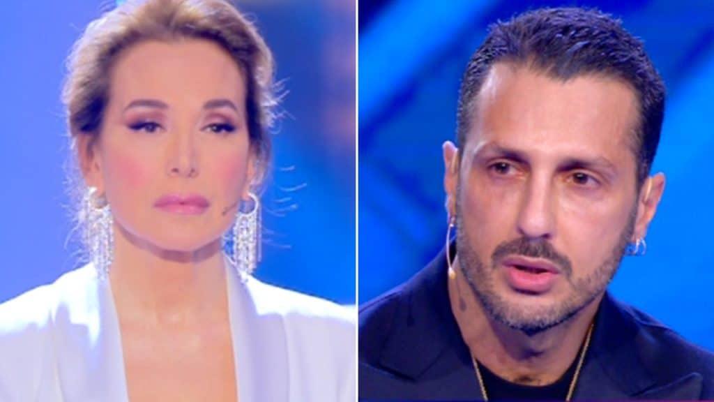 Barbara D'Urso risponde per le rime a Fabrizio Corona del 2013