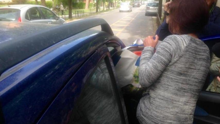 Fausta Bonino in lacrime dopo la richiesta del pm. Credits ANSA