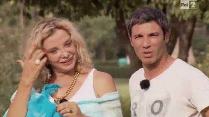 Francesco Venditti e Simona Izzo