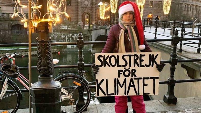 Greta Thunberg, settimana 19 di protesta (Foto Facebook)