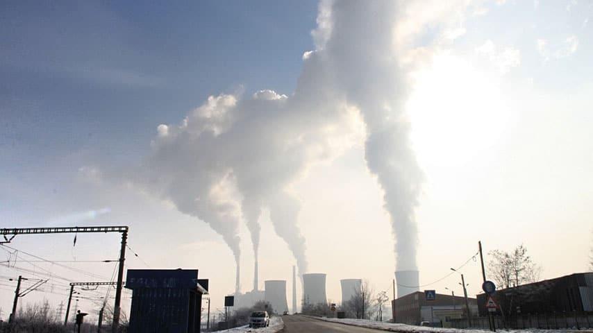 Città inquinata
