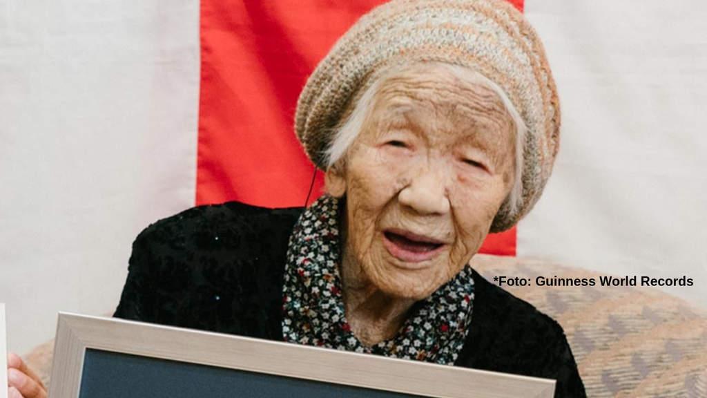 Kane Tanaka (Foto Guinness World Records)