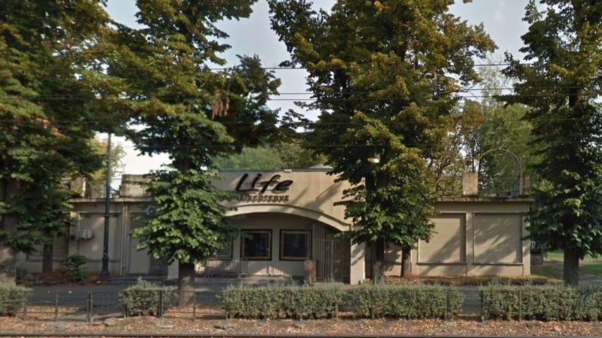 """La discoteca """"Life"""", in corso Massimo D'Azeglio 3 a Torino. Immagine: Google Maps"""