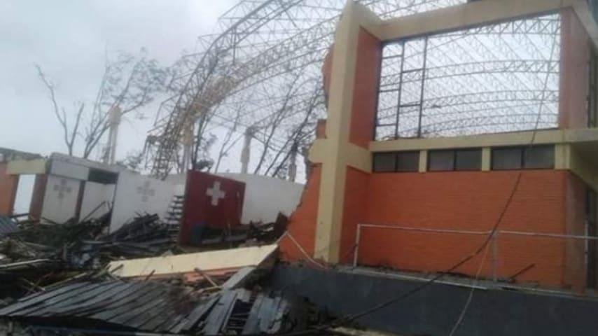 Le immagini delle devastazioni del ciclone Idao. Credits: Meteo Web