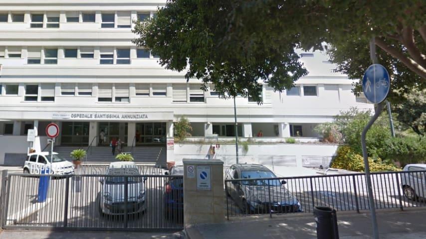 Ospedale civile SS. Annunziata di Sassari. Immagine: Google Maps