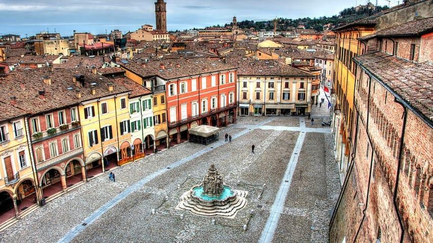 Scorcio di Cesena. Immagine: Sito ufficiale Comune di Cesena
