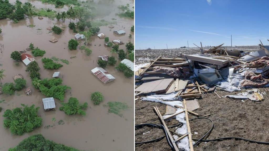 Terribile ciclone si abbatte in Africa meridionale_ 150 morti accertati