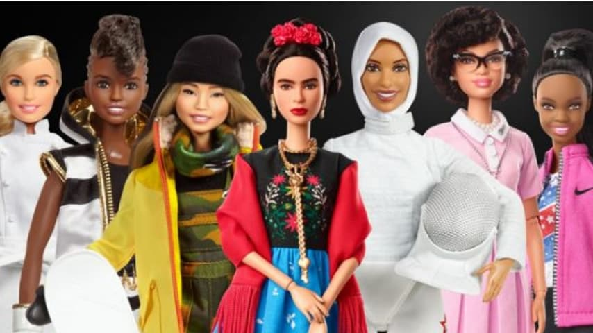 Tutte le barbie impersonate