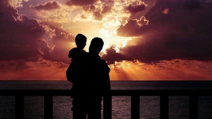 Un padre ed un figlio