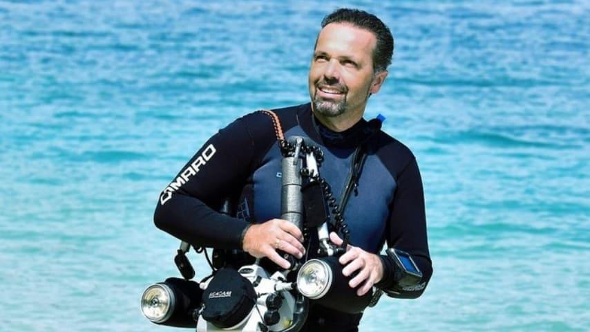 Rainer Schimpf e la strumentazione per immersione