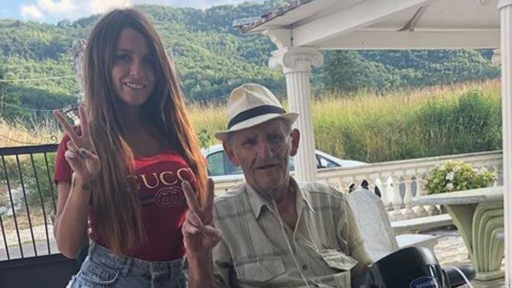 Lutto per Alessia Macari