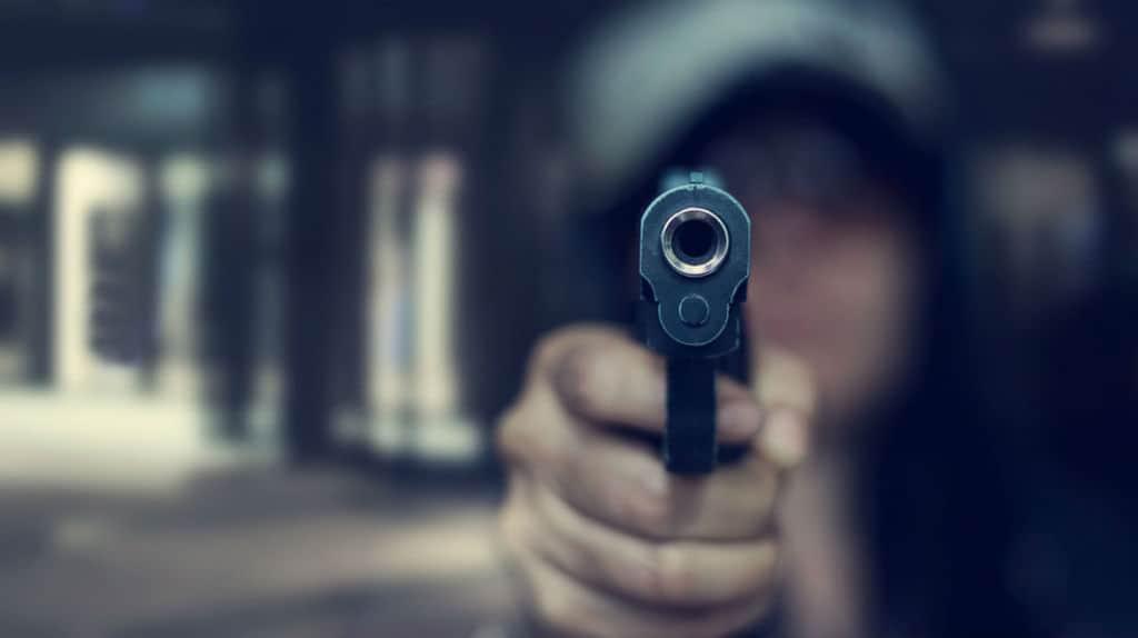 arma da fuoco puntata