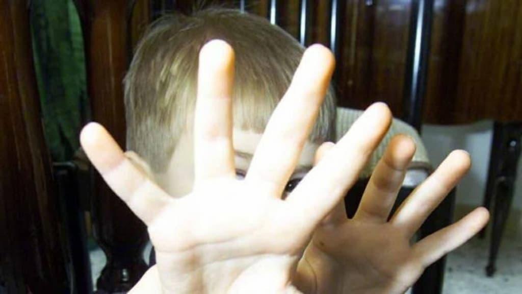 Immagine di repertorio di un bambino