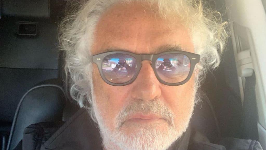 Flavio Briatore, primo piano