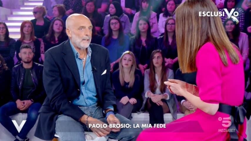 Paolo Brosio a Verissimo
