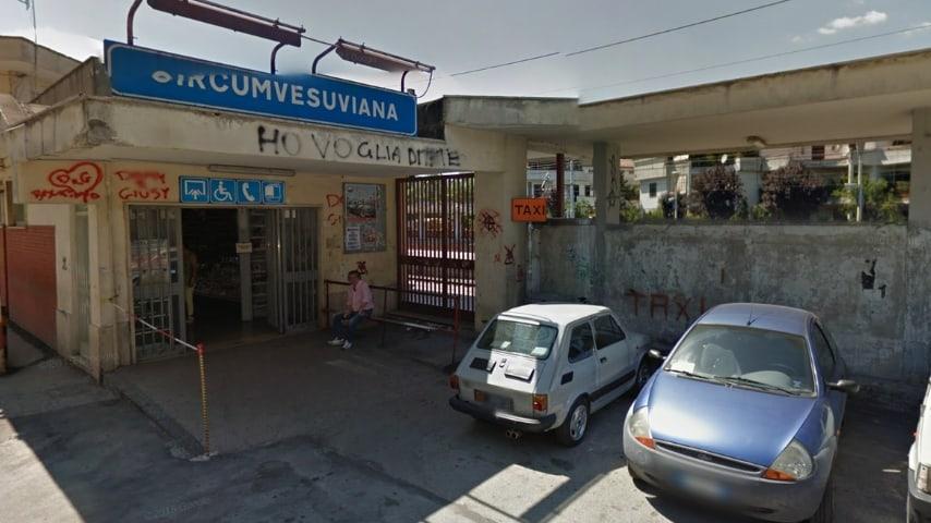 La stazione circumvesuviana di Nola. Fonte: Google Maps