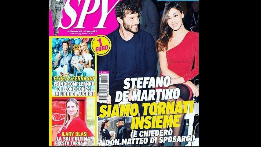 copertina di Spy Stefano Belen