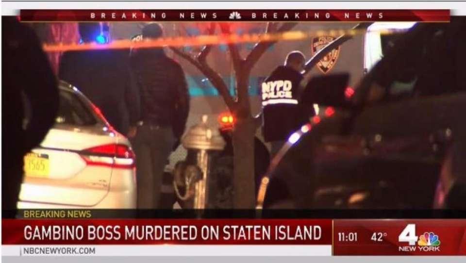 Le immagini della scena in diretta della NBC