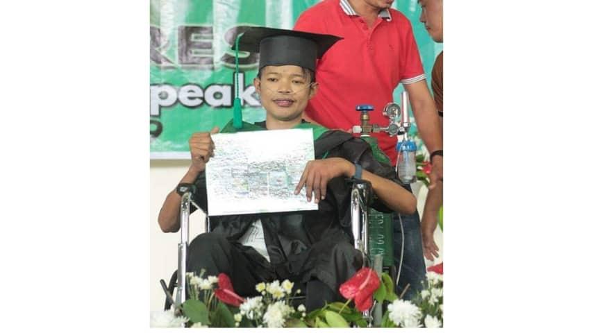Jaemar: si laurea e poi muore