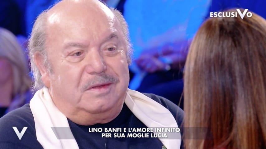 Lino Banfi parla della moglie Lucia