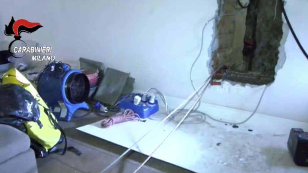 Trovato cadavere murato in un residence in Brianza