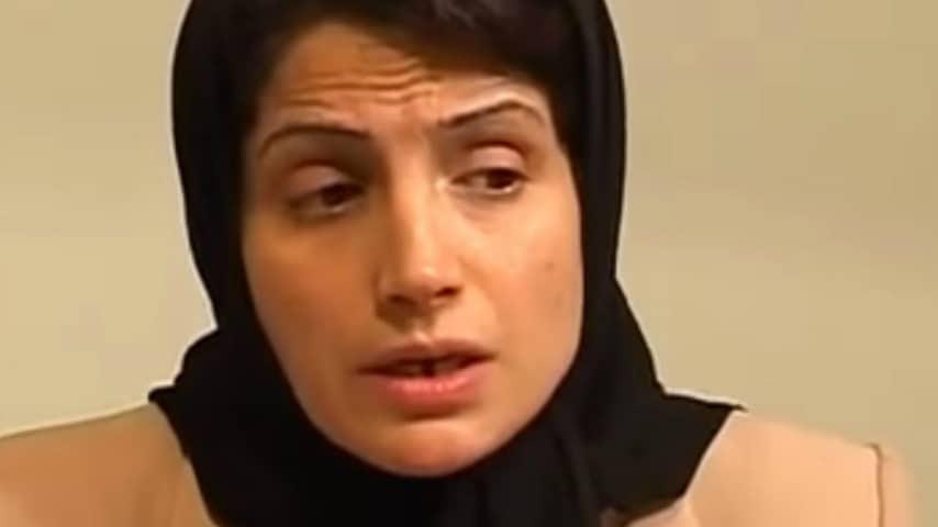 avvocatessa iraniana nasrin sotoudeh in aula