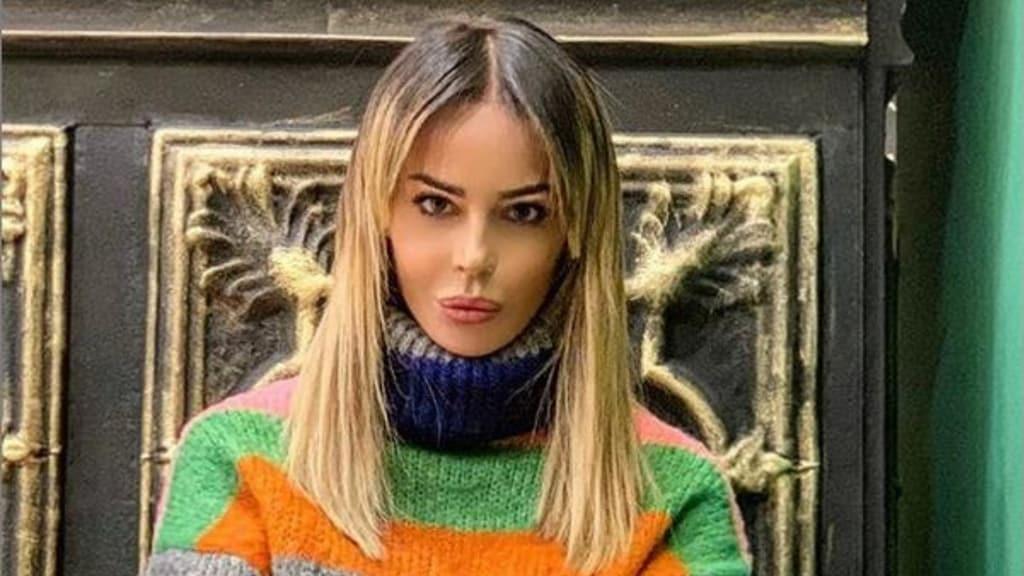 Nina Moric: la reazione alla notizia del ritorno in carcere di Fabrizio Corona