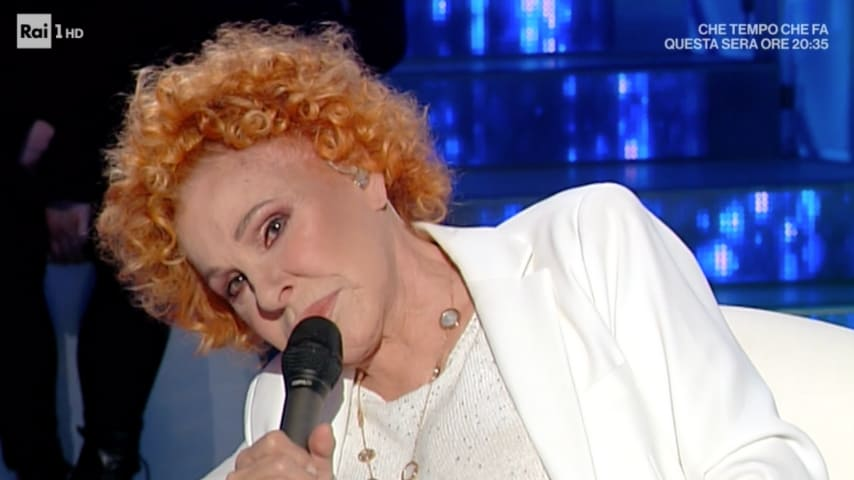 Ornella Vanoni parla della sua vita con Mara Venier