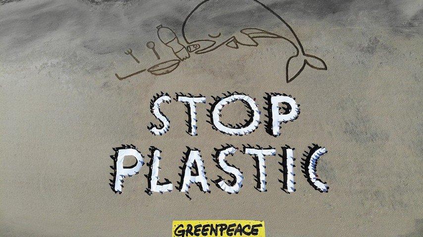 Greenpeace, plastica