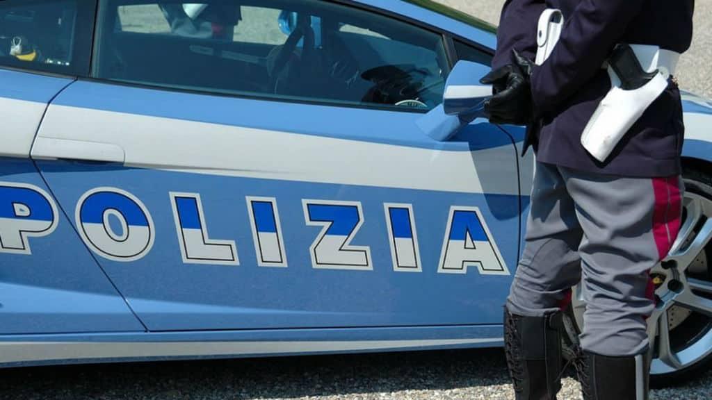 Immagine di repertorio della polizia