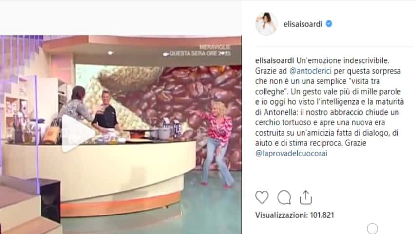 Isoardi, risposta social alla sorpresa di Antonella: