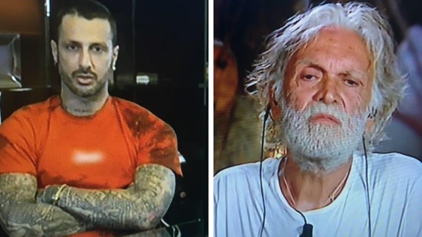 Fabrizio Corona umilia Riccardo Fogli: