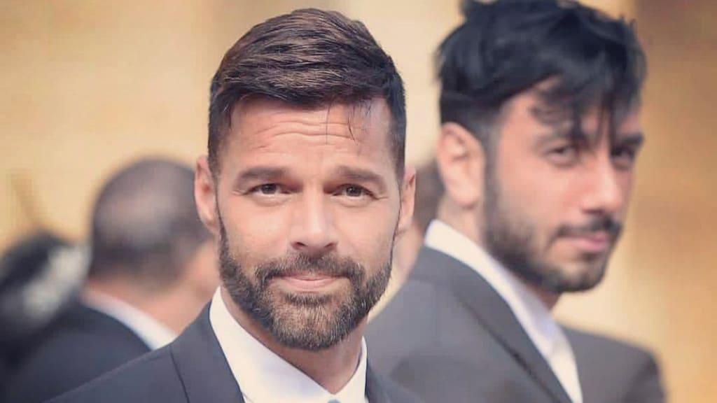 Ricky Martin ad un matrimonio, foto di Instagram