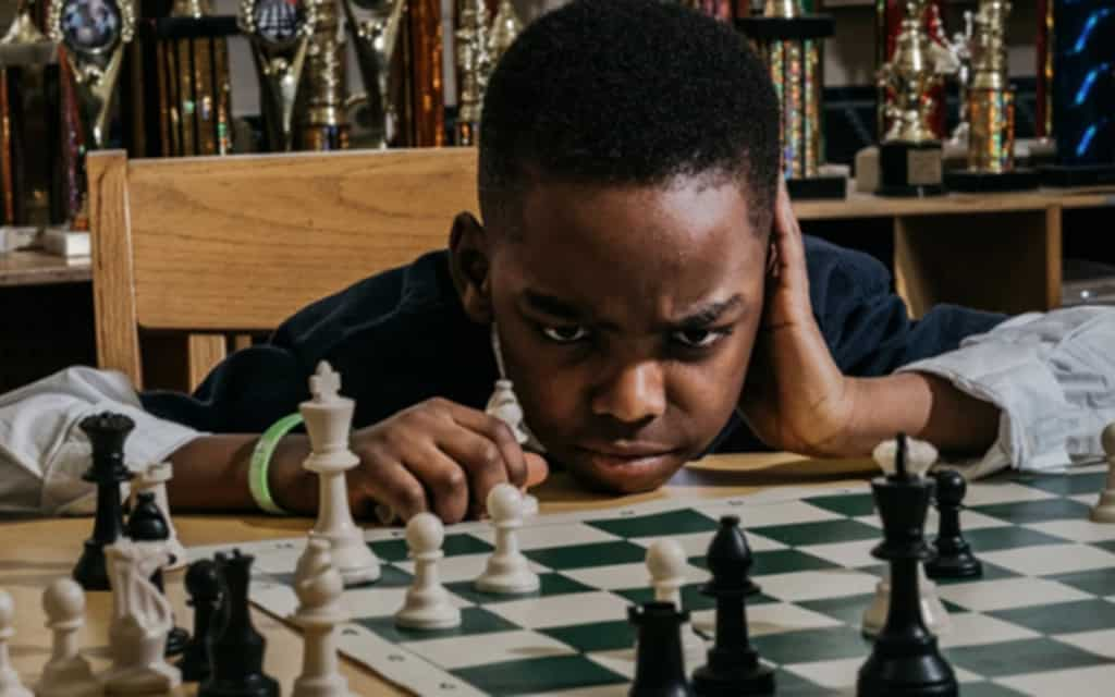 il bambino senzatetto campione di scacchi