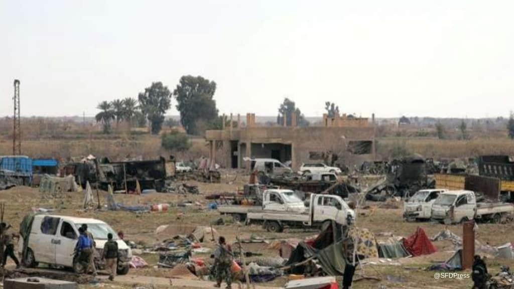Le forze curde hanno liberato Baghuz. Foto: SFDPress