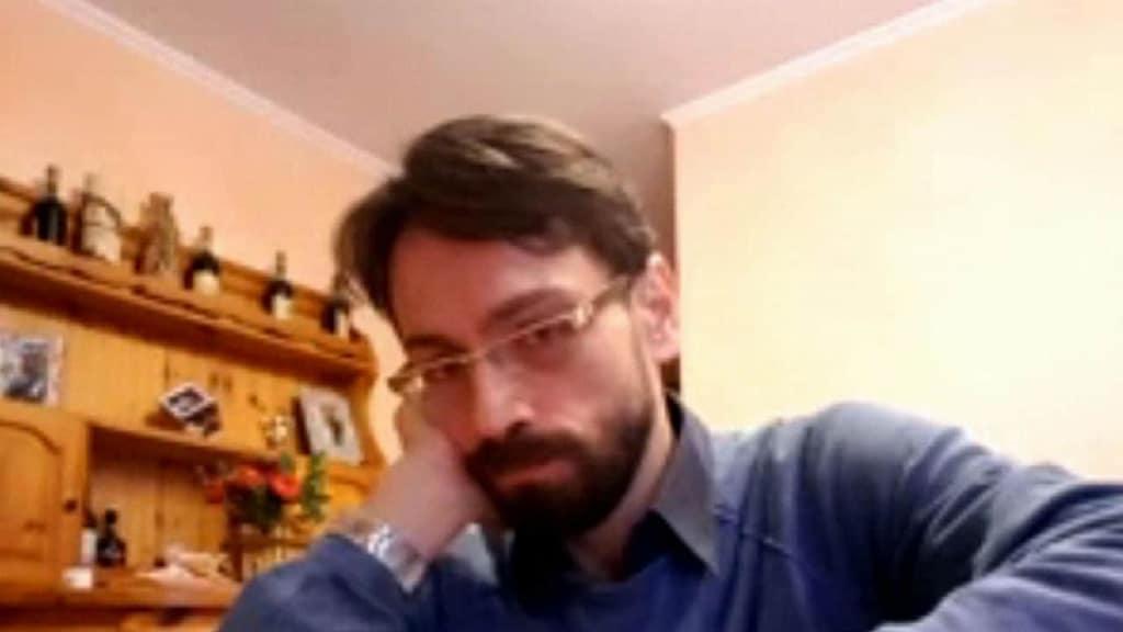 primo piano di Claudio punti l''untore dell'Hiv di Ancona è stato condannato