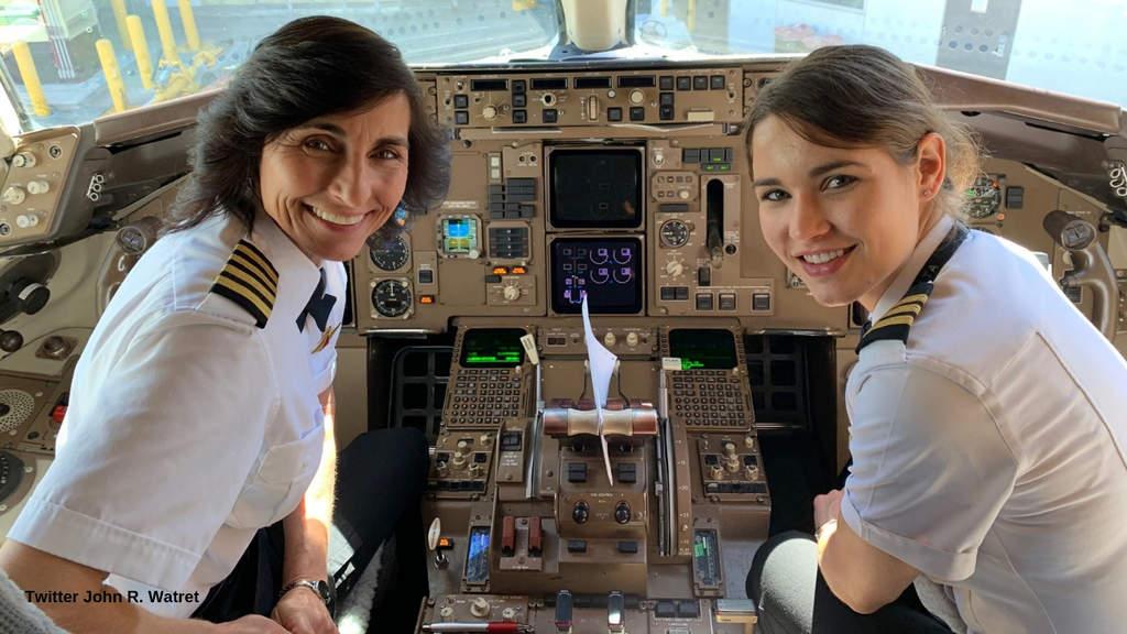 Wendy e Kelly Rexon: madre e figlia piloti di aeroplani