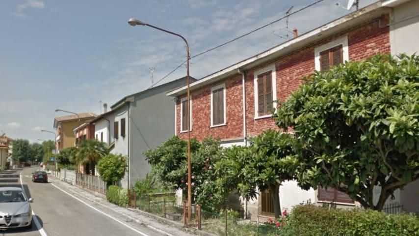 Borgo Santa Maria, frazione di Pesaro. Immagine: Google Maps
