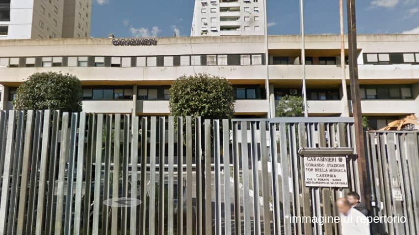 Carabinieri comando stazione di Tor Bella Monaca. Immagine: Google Maps