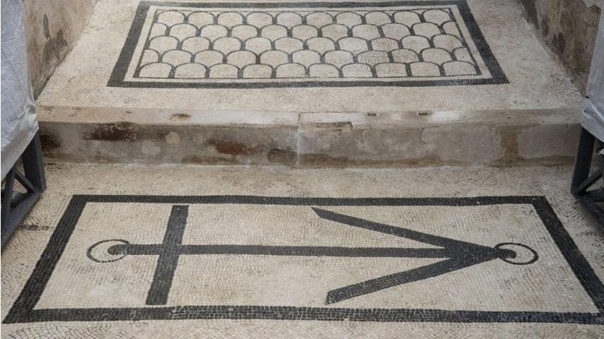 Dettaglio Domus dell'Ancora. Immagine: Sito dell'Area Archeologica di Pompei