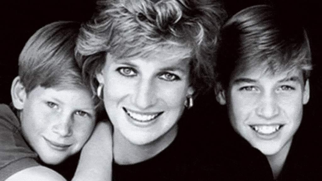 Lady Diana e i figli