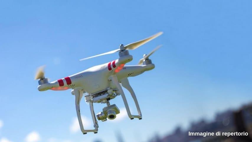 Un drone manda in allarme Malpensa (Immagine di repertorio)