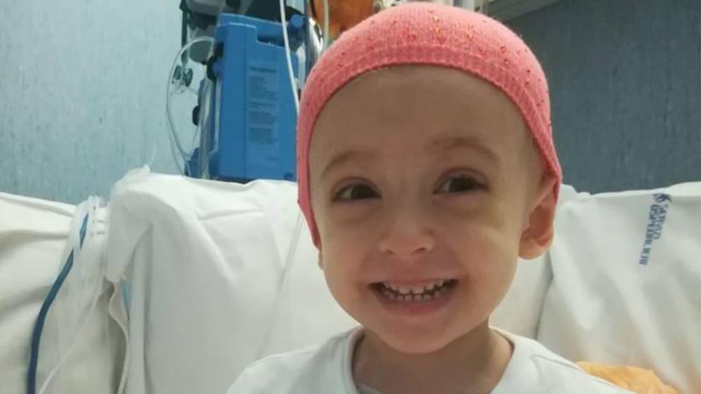 Elisa, la bimba malata di leucemia, ha bisogno di un nuovo donatore
