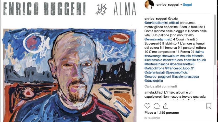 Enrico Ruggeri Alma