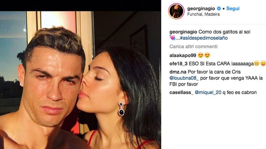 Georgina e Cristiano