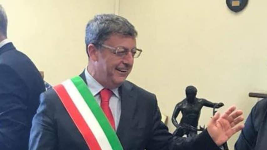 Giovanni Palomba, sindaco di Torre del Greco. Immagine: Giovanni Palomba sindaco/Facebook