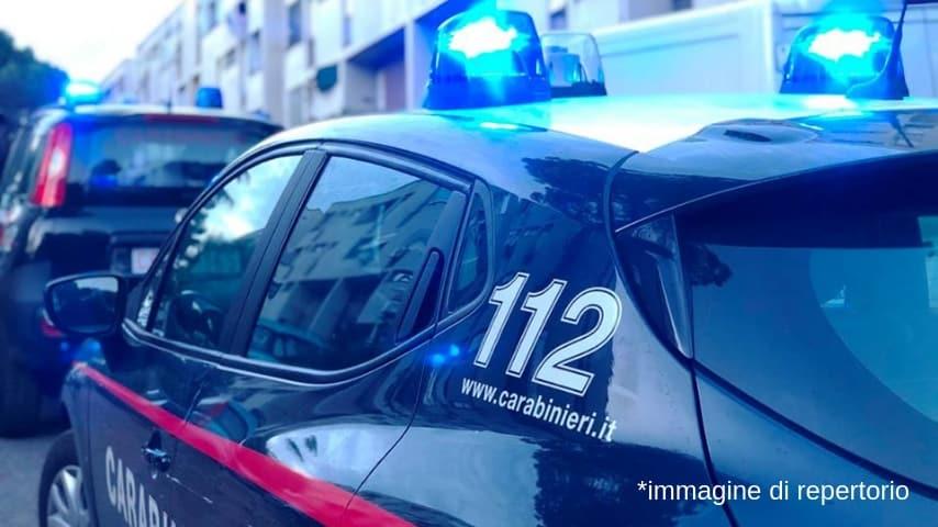I carabinieri della stazione di Tor Bella Monaca sono intervenuti immediatamente. Immagine di repertorio