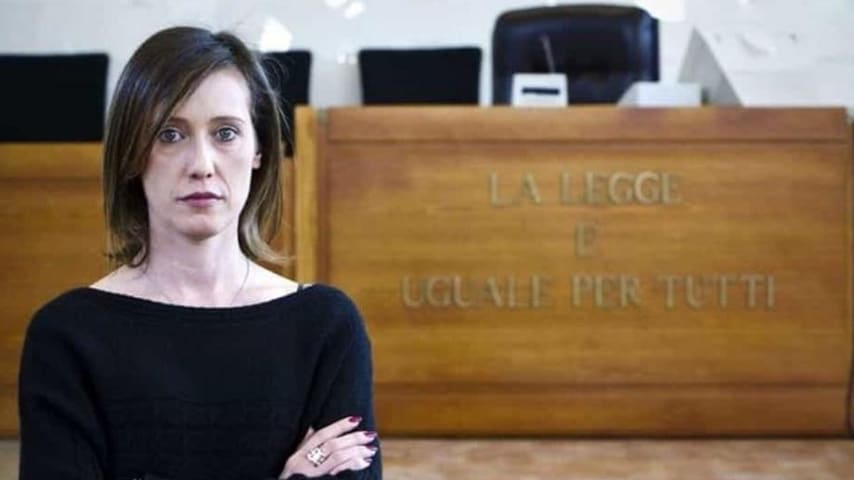Ilaria Cucchi in tribunale. Fonte: Ilaria Cucchi/Facebook