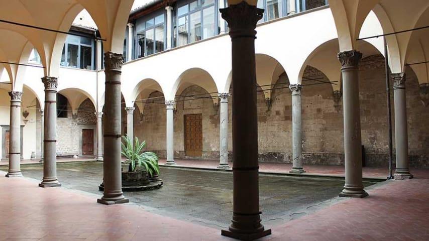 """Interno del liceo artistico P. Petrocchi di Pistoia. Immagine: Liceo Artistico """"P.Petrocchi"""" Pistoia/Facebook"""