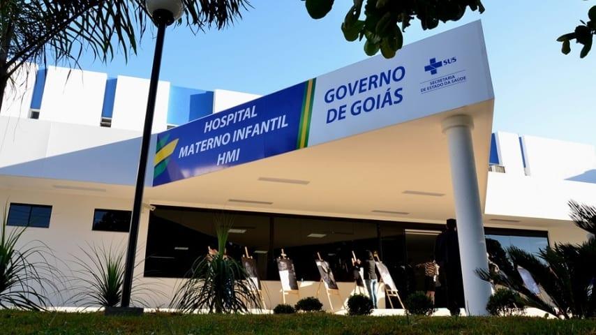 L'Ospedale Materno Infantile di Goiânia. Immagine: Sito della Segreteria dello Stato di Goiás per la salute